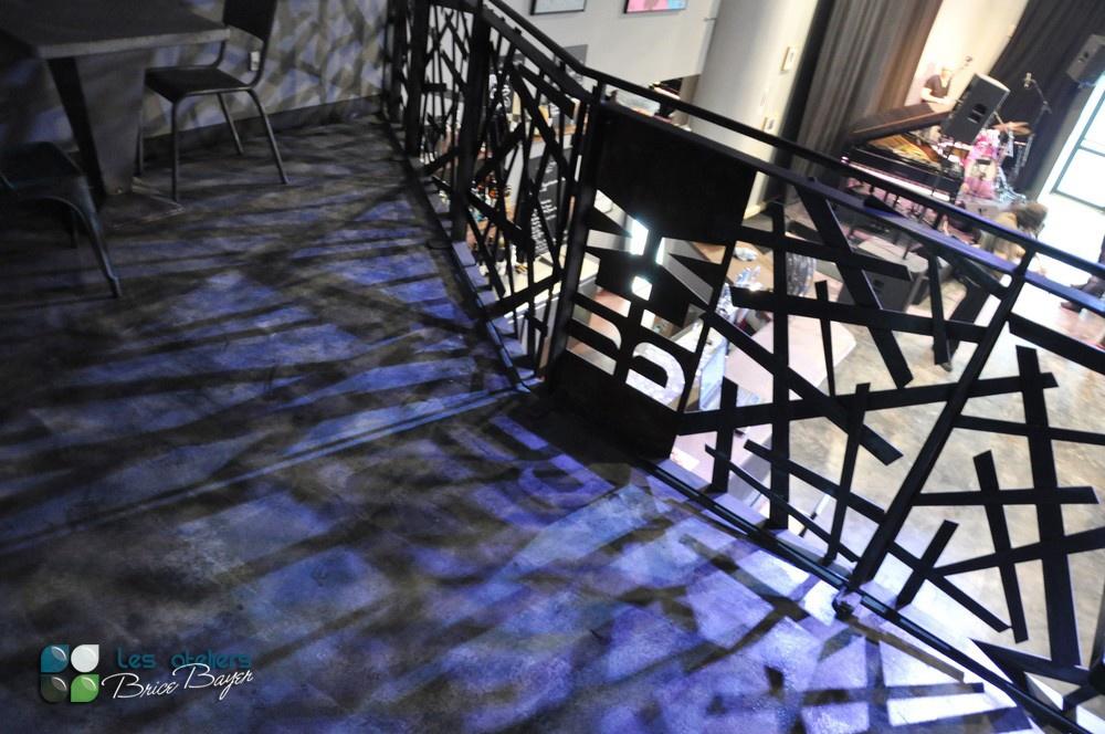 les ateliers brice bayer ferronnerie d 39 art garde corps en acier barri re d 39 escalier. Black Bedroom Furniture Sets. Home Design Ideas