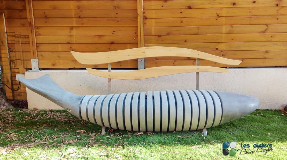 Banc Bois Exterieur Design : Mobilier Design – Les Ateliers Brice Bayer, mobilier et am?nagement